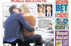 Taylor Swift was spotted shifting the face off Tom Hiddleston... It's the Dredge