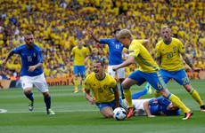 As it happened: Italy v Sweden, Euro 2016