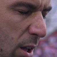Croatia captain Srna moved to tears during national anthem following his father's death