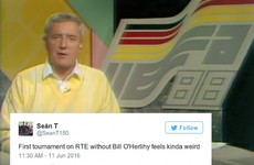 So many people have been sharing their memories of Bill O'Herlihy during the Euros
