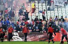 Croatia coach slams 'sports terrorists' after flares incident