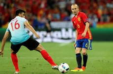 Iniesta pulls the strings as Morata fires Spain into the last 16