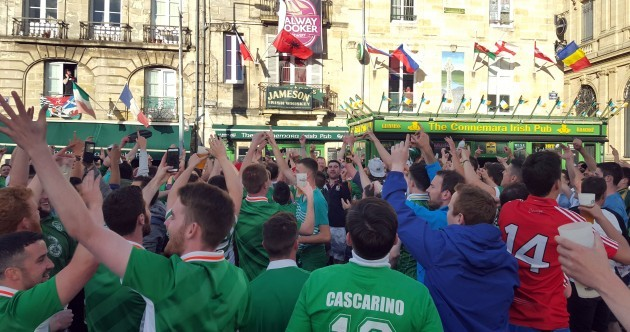 Letter from Bordeaux: Irish fans drink Connemara dry and Wilmots is the gaffer