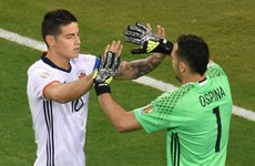 'I love him so much' - James Rodriguez praises David Ospina's Colombia heroics
