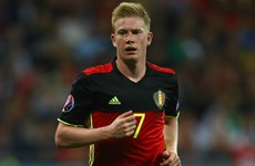 He's 1 of the top Premier League stars but Belgium give no guarantee De Bruyne will feature today