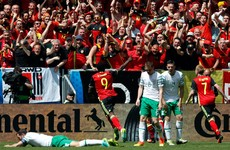 Lukaku double helps Belgium to victory over Ireland at Euro 2016