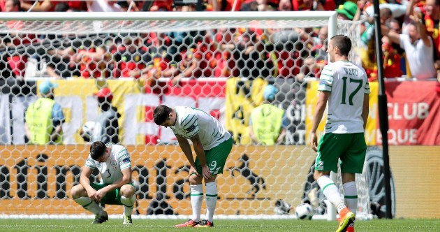 As it happened: Ireland v Belgium, Euro 2016