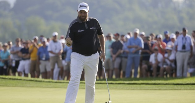Shane's on fire! Lowry takes FOUR shot lead into final round of the US Open