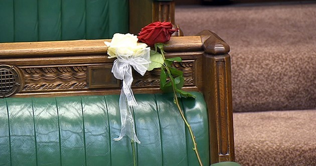 """We've lost one of our very best"" - UK parliament reconvenes to honour Jo Cox"