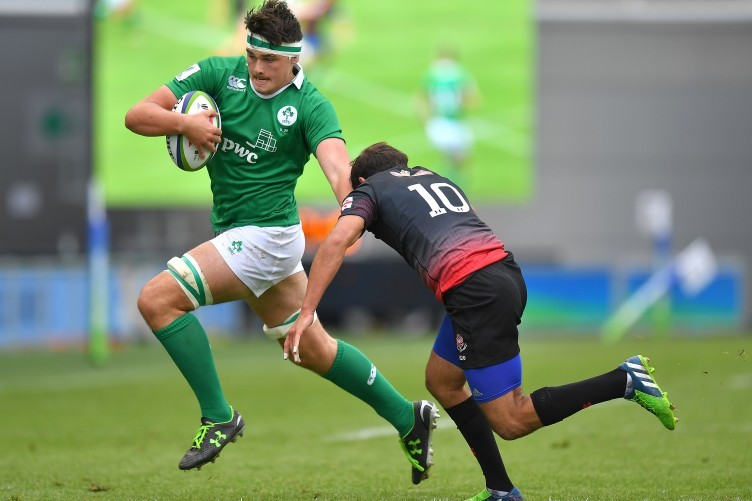 Max Deegan has been one of the standout performers for Ireland U20s.