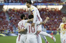 As it happened: Croatia v Spain and Czech Republic v Turkey - Euro 2016