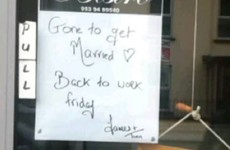 This Wexford restaurant announced it was closing for a few days with the sweetest sign