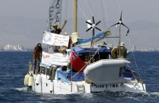 Boat of activists leaves Cyprus for Gaza