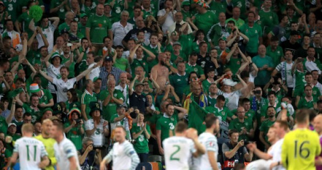 Here's how Ireland reacted to tonight's big win