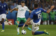 Hoolahan owes Brady 'a few drinks' after missing golden opportunity right before Ireland's winner