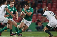 O'Halloran replaces injured Payne with Healy included on Ireland bench