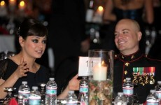 Hollywood's Mila Kunis takes up US marine's YouTube invitation