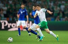 Captain Coleman gave 'inspirational' speech to players before Ireland's win over Italy