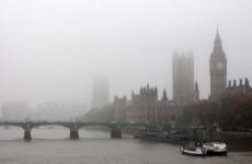 Dozens of flights grounded as heavy fog shrouds London