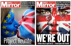 'See EU later!': The frantic changes to UK front pages after shock Brexit result