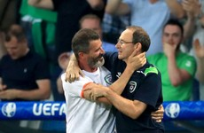 'It's called being happy. Try it!' - Roy Keane on his post-match hugs