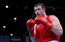 Ireland's Dean Gardiner is one win away from a place in the Olympics and a gold medal in Baku