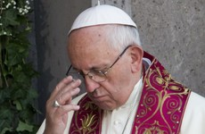 Pope Francis says Christians should apologise to gay people