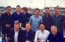 Rory McIlroy went on a stag with the lads in Dublin... it's the Dredge
