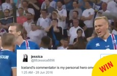 Everyone is loving this Icelandic commentator's reaction to their win against England