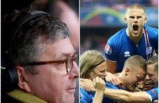 George Hamilton's RTE commentary after Iceland's remarkable win was an absolute joy