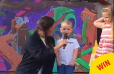 This boy sang Baa Baa Black Sheep as Gaeilge on holiday and confused the British around him