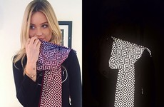 This genius scarf makes it impossible for paparazzi to take photos of celebrities