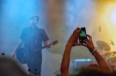 It turns out recording gigs on your phone is something that irks Apple too