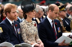 President Higgins joins British royals to mark Battle of the Somme centenary