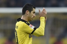 Dortmund confirm Mkhitaryan move to Man United after they received 'tremendous fee'