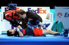 Injury forces Murray out of ATP Finals in London