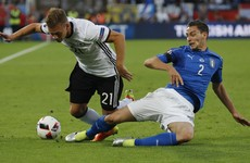 As it happened: Italy v Germany, Euro 2016 quarter-final