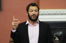 In pictures: Dominic West at Trinity College Dublin