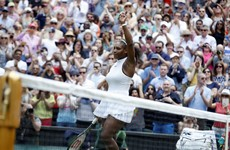 Serena reaches 300-win milestone in Wimbledon romp