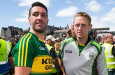 Worry for Kerry as Cooper comes off injured in first half of Munster final