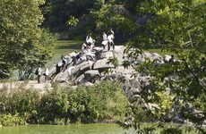 Man has part of his leg 'blown off' in Central Park