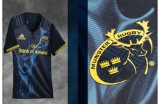 Munster unveil new navy and yellow alternate kit for the 2016/17 season