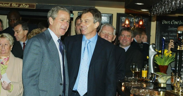 'I will be with you, whatever': Conversations between Blair and Bush on the Iraq War