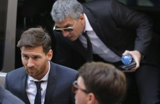 Lionel Messi and his father handed 21-month suspended sentence for tax fraud