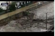 Three die as Italy hit by torrential rain