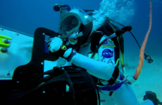 An Irish doctor has been picked by NASA to live under the sea