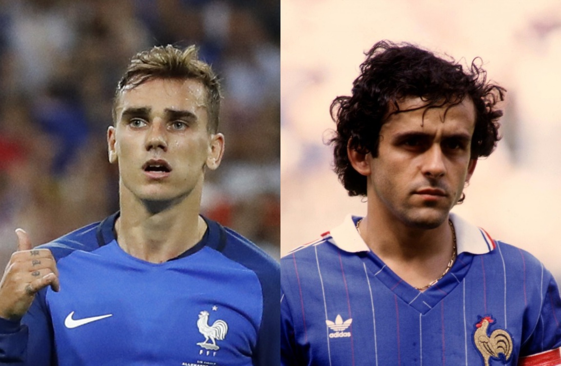 Griezmann channels Michel Platini in 1984 and more Germany v