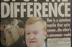 'Reptiles and traitors' - how The Sun described Charles Kennedy and Robin Cook over Iraq War