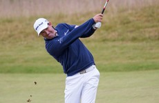 Harrington shows all his class on the Scottish links to head into the weekend in good shape