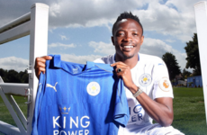 Leicester break record transfer fee for second time this week to sign Nigerian midfielder